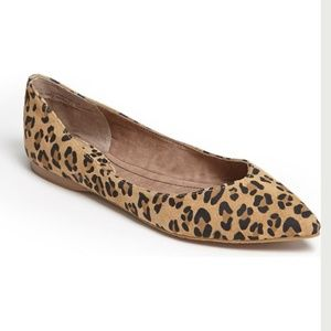BP Moveover Pointed Toe Flat leopard print